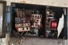 Ein näherer Einblick in den einzigen Stromkasten