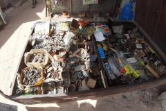 Ein Ausflug auf den Markt zeigt uns, dass dort ganz andere Ware gefragt ist, als bei uns.