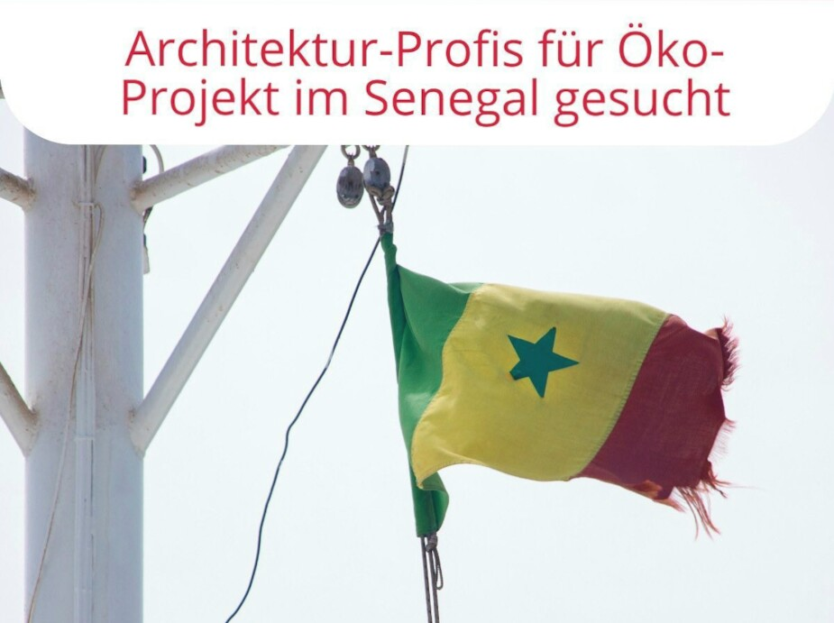 Stiftung Gute-Tat: Öko-Projekt Senegal